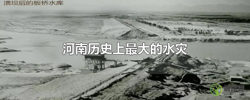 河南历史上最大的水灾?