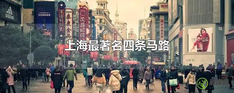 上海最著名四条马路?