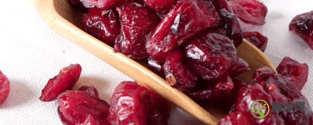 蔓越莓干的功效和作用,蔓越莓干的功效和作用是什么?